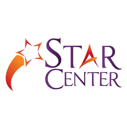 Star Center logo with a shoot star