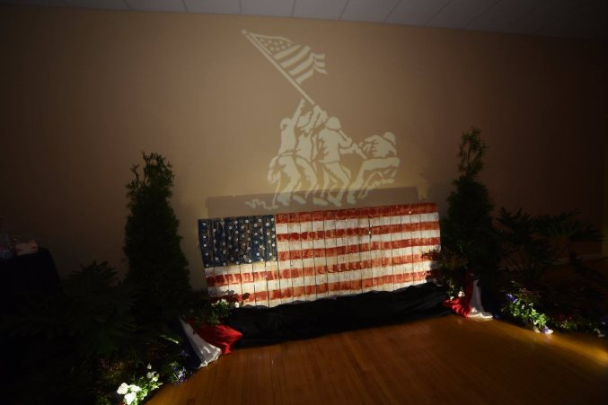 Iwo Jima Light Display