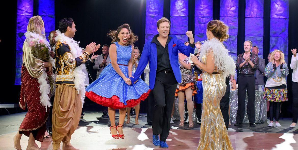 dancing with the stars jackson winners show excitement